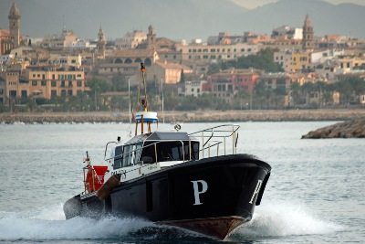 Pilot 5aPM-1-504 am 2.11.2019 in Palma de Mallorca