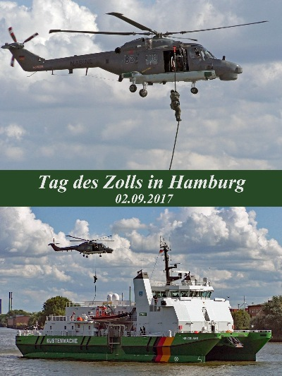 Tag des Zolls am 02.09.2017 in Hamburg