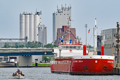 NORDIC ERIKA am 20.7.2019 in Lübeck