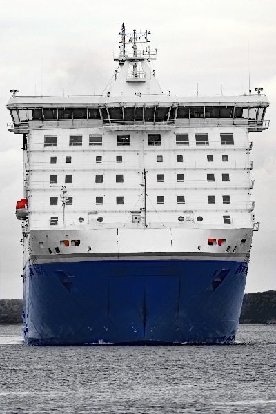 Finnlady (Finnlines) am 15.07.2016 in Lübeck-Travemünde