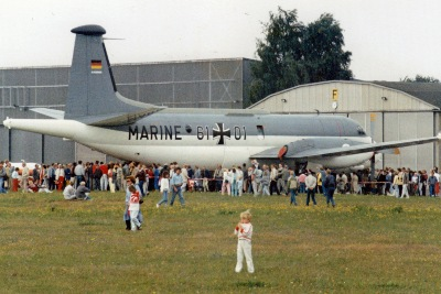 Breguet Atlantic in Lübeck-Blankensee 1982