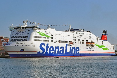 STENA SCANDINAVICA am 23.6.2019 in Kiel