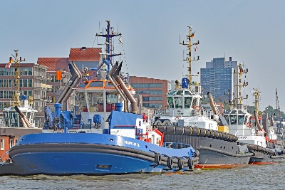 Schlepper FAIRPLAY IX am 3.9.2018 in Hamburg
