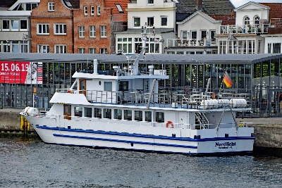 NORDLICHT ex CONNY D am 9.6.2019 in Travemünde