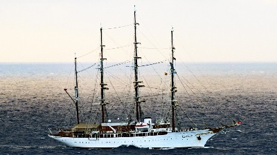 SEA CLOUD am 8.11.2019 vor Lanzarote