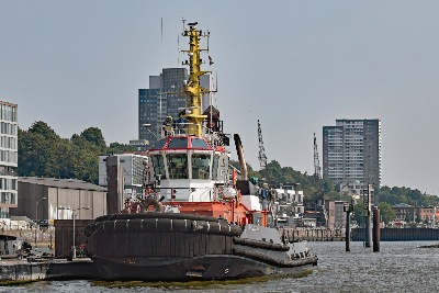 BUGSIER 9 am 3.9.2018 in Hamburg