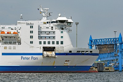 PETER PAN am 20.7.2019 in Lübeck-Travemünde