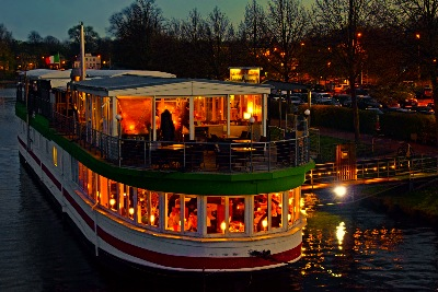 Riverboat in Lübeck