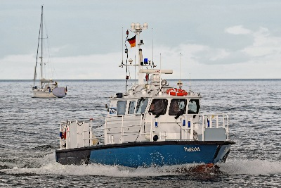 Polizeiboot HABICHT am 27.08.2017