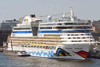 AIDAluna am 23.6.2019 in Kiel
