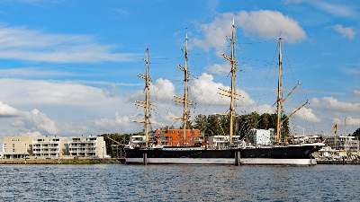 PASSAT am 16.08.2019 in Lübeck-Travemünde