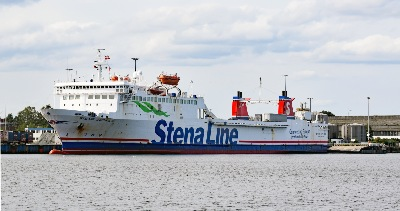 STENA GOTHICA am 16.8.2019 in Travemünde