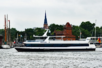HANSA am 6.7.2019 in Lübeck
