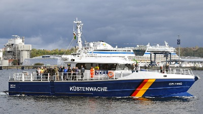 Zollboot GELTING am 3.10.2019 in Kiel