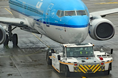 KLM Hamburg Airport 20.01.2018