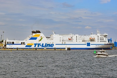 PETER PAN am 11.7.2019 in Lübeck-Travemünde
