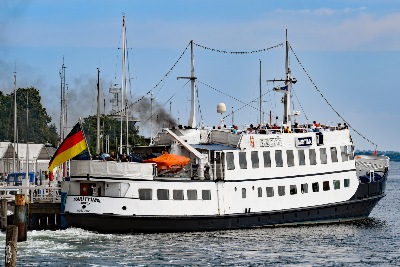 MARITTIMA am 11.7.2019 in Lübeck-Travemünde