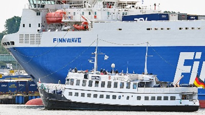 MARITTIMA bei der FINNWAVE in Travemünde am 11.7.2019