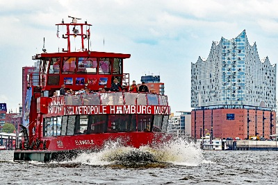 ELBMEILE am 27.5.2019 in Hamburg