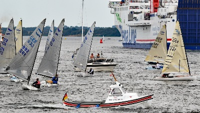 "Hafenmeister LYC ""Mary"" am 20.7.2019 in Lübeck-Travemünde"